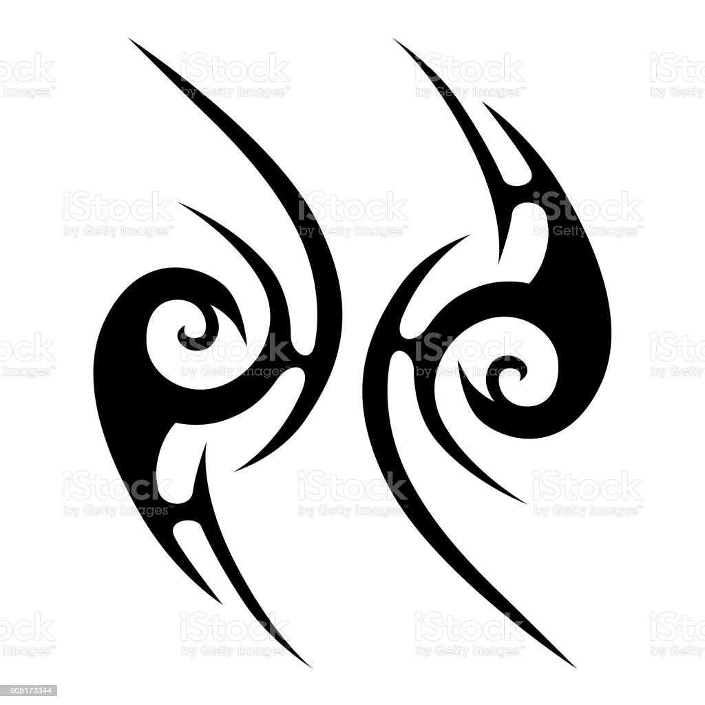 tattoo tribal vector design