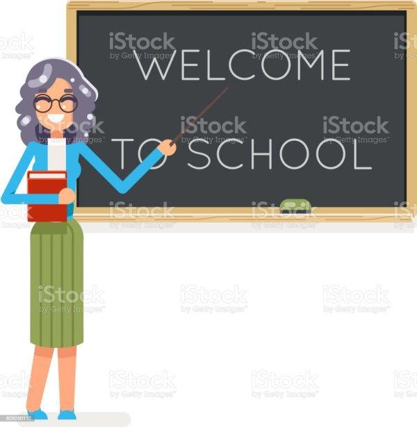 Teacher Book Female Study Pupil Student Class Education