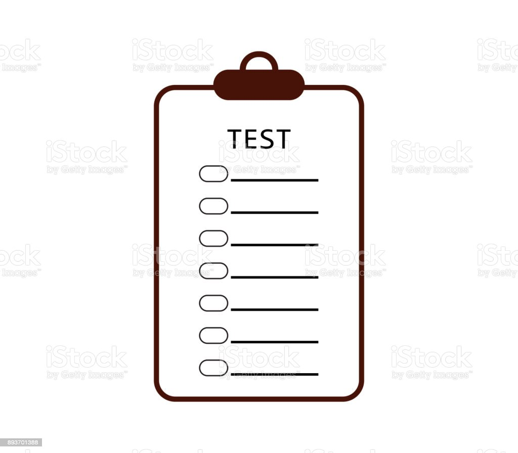 Test Icon Stock Vector Art & More Images of Computer