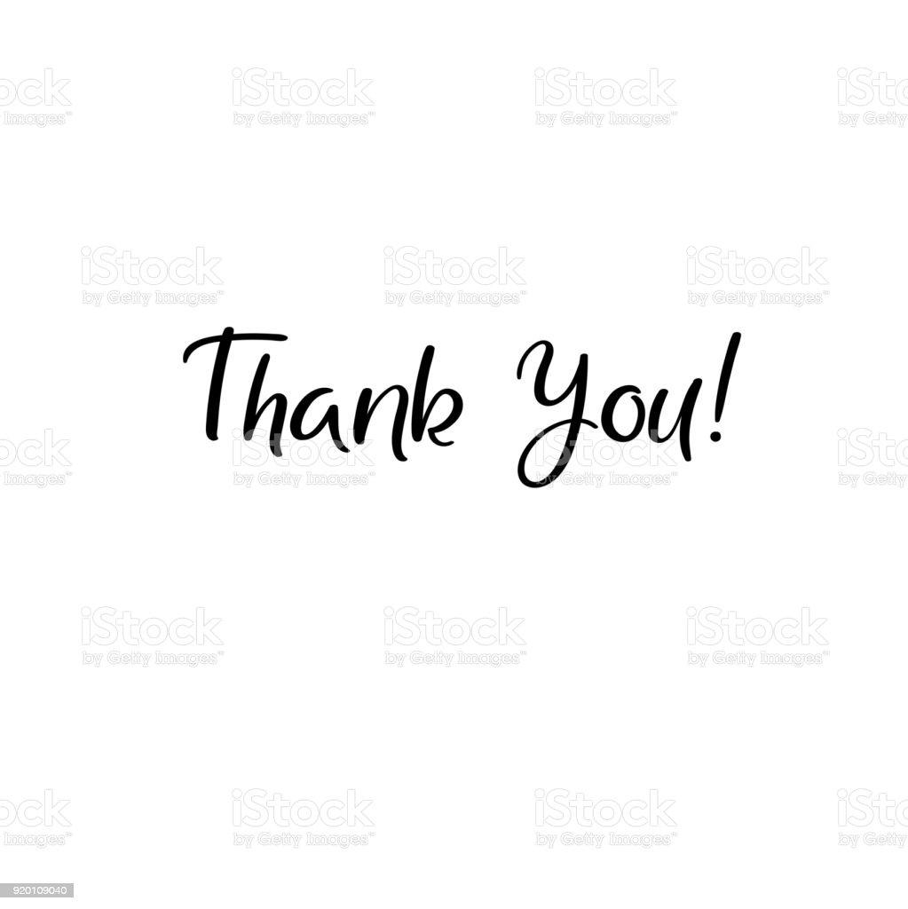 謝謝你手寫的題詞手繪刻字謝謝你的書法謝謝卡向量插圖 向量插圖及更多 信 - 文件 圖片 920109040 | iStock