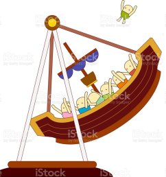 the view of pirate ship royalty free stock vector art jpg 1024x933 pirate ship diagram [ 1024 x 933 Pixel ]