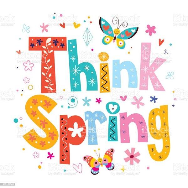 spring stock illustration
