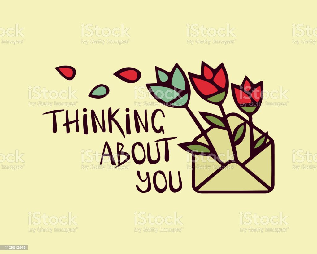 thinking of card illustrations