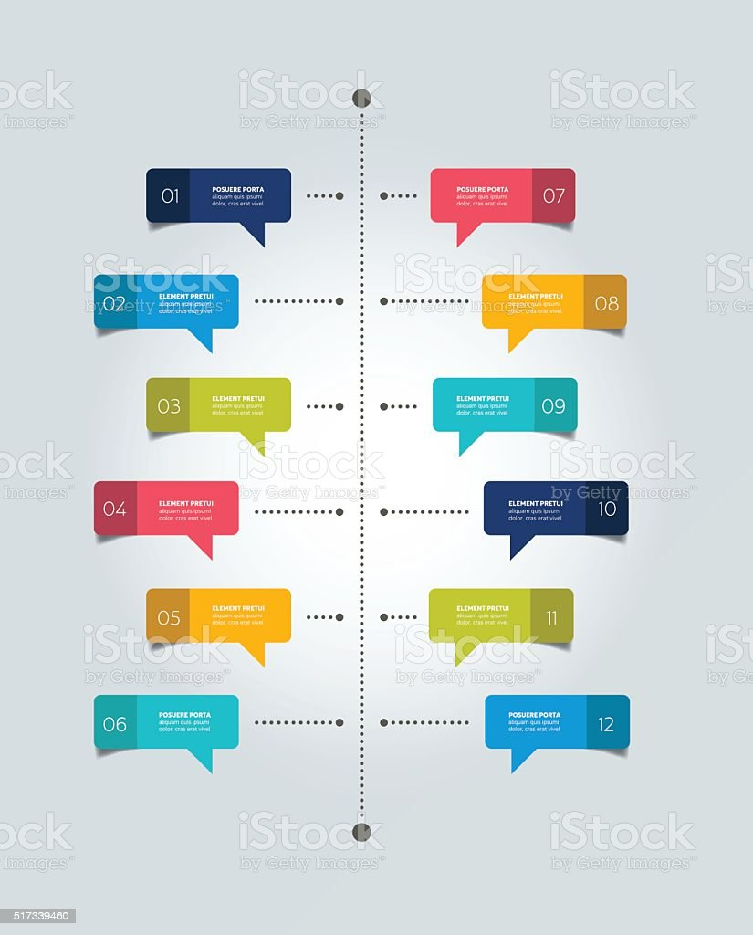 hight resolution of color shadow scheme diagram vertical design royalty free