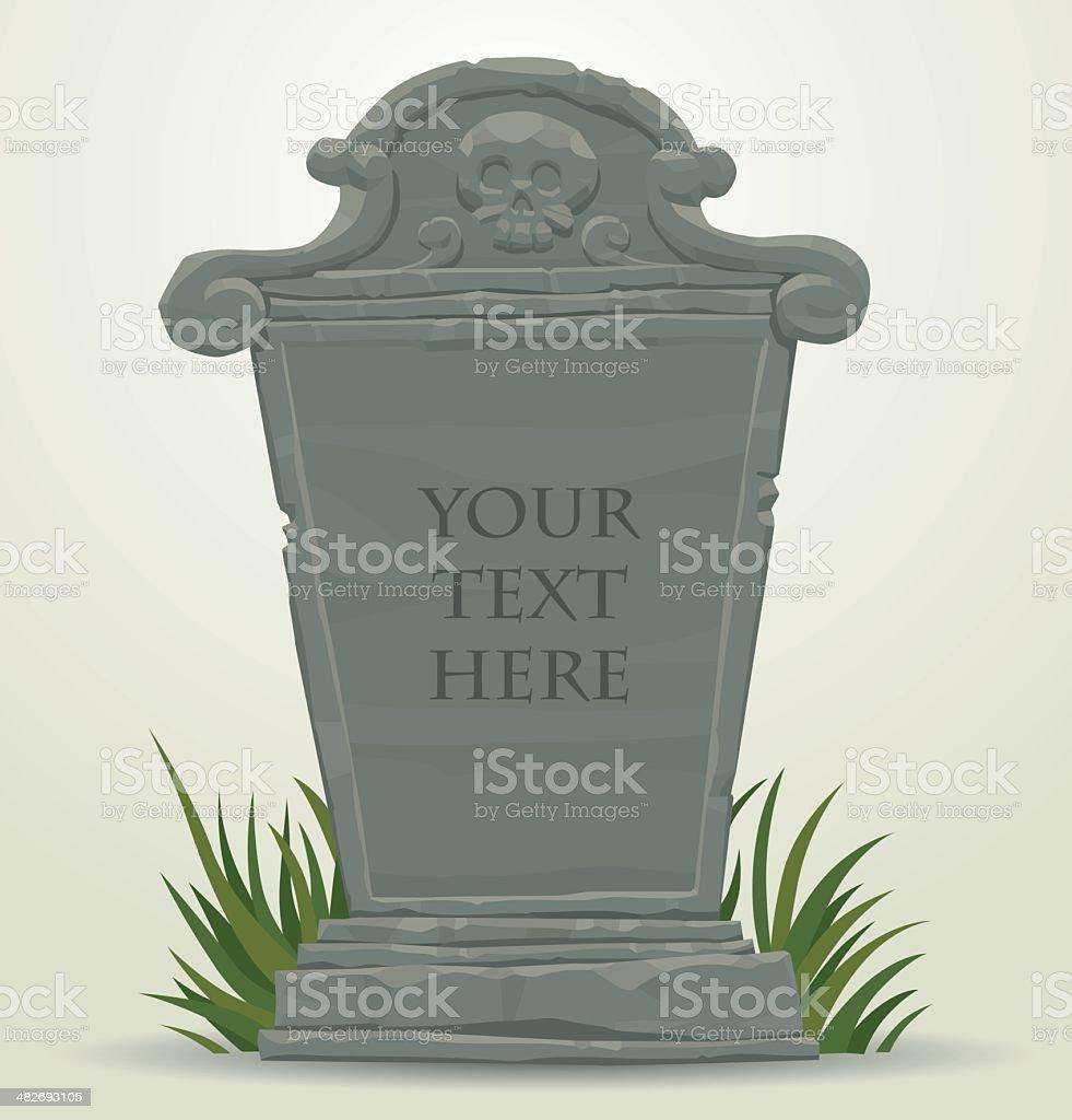 tombstone clip art vector