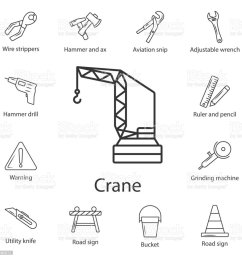 tower crane icon simple element illustration tower crane symbol design from construction collection set can be used for web and mobile illustration  [ 1024 x 1024 Pixel ]