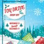 Toy Drive Or Christmas Charity Poster Template Stock
