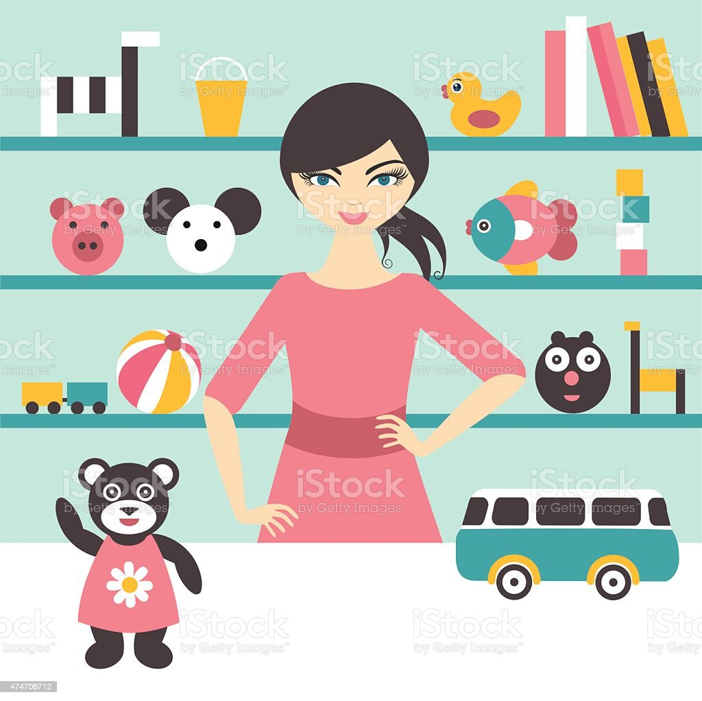 Best Toy Store Illustrations Royalty Free Vector Graphics