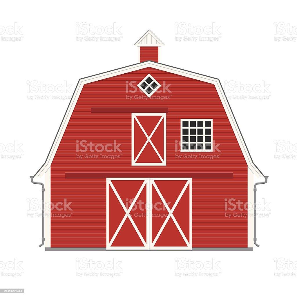 barn door illustrations royalty-free