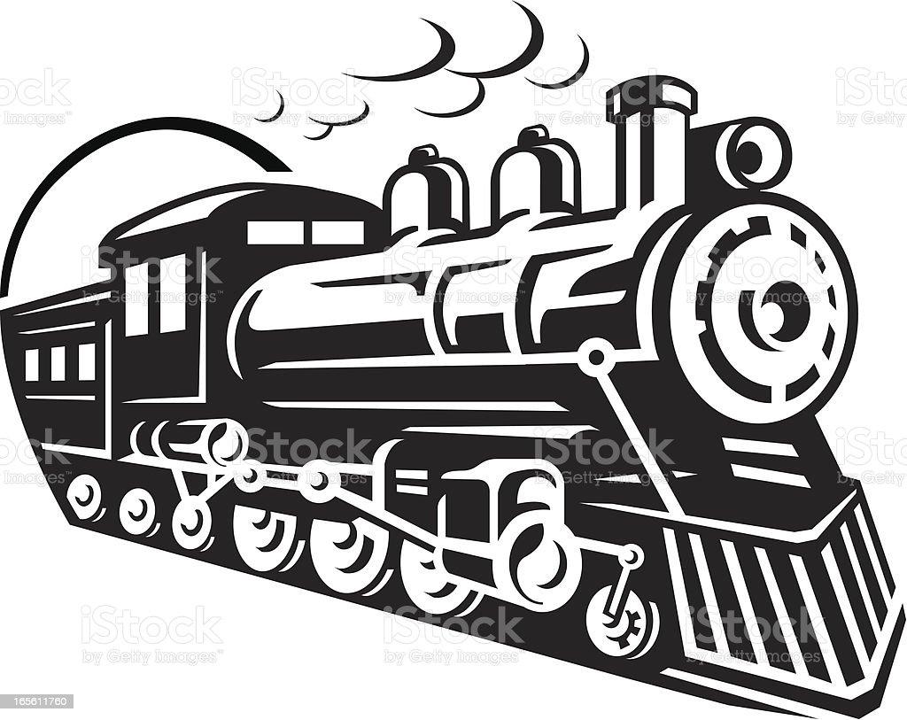 Track Cartoon Mta And Train White Black
