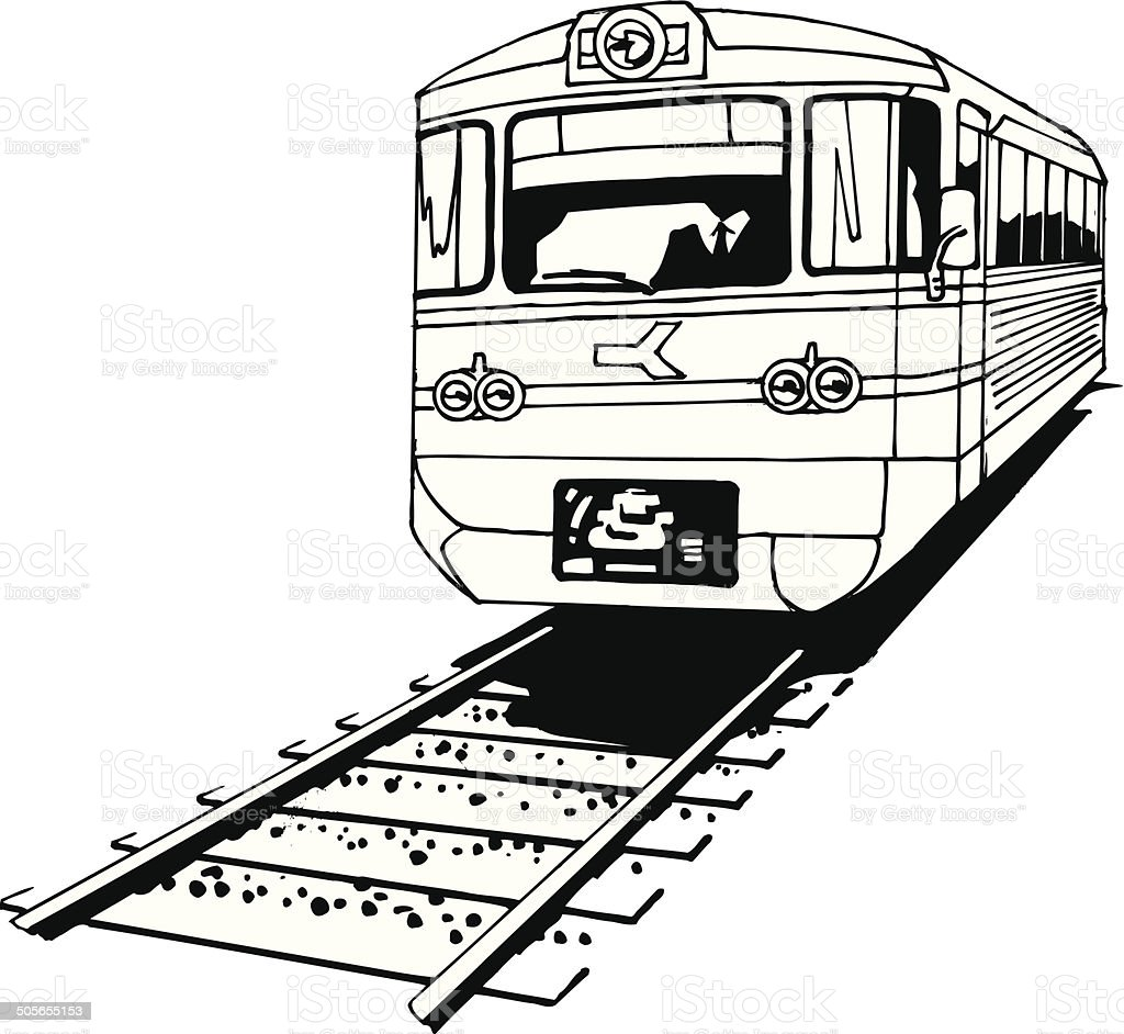 hight resolution of train on tracks vector cartoon clipart royalty free train on tracks vector cartoon clipart stock