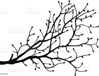 Tree Branch Silhouette Stock Vector Art & More Images of ...
