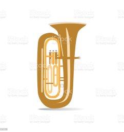 illustration vectorielle plat isol tuba illustration vectorielle plat isol tuba cliparts vectoriels et plus d [ 1024 x 1024 Pixel ]