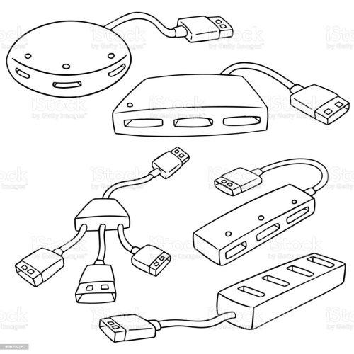 small resolution of usb hub illustration