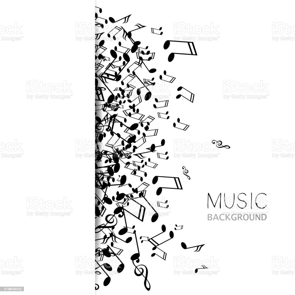 Vector Abstract Music Background Stock Vector Art & More
