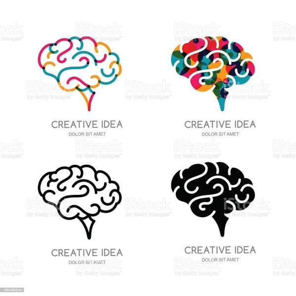 Human Brain Clip Art Vector