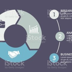3 Arrow Circle Diagram S10 Wiring Vector Arrows Infographic Cycle Graph Presentation Chart Business Concept With