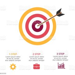 3 Arrow Circle Diagram Heat Only Thermostat Wiring Diagrams 2 Wire Vector Arrows Infographic Cycle Graph Presentation Chart Target Marketing Research Business Concept With Options Parts Steps