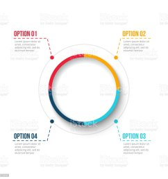 vector circle element for infographic template for cycle diagram graph presentation and round [ 1024 x 1024 Pixel ]