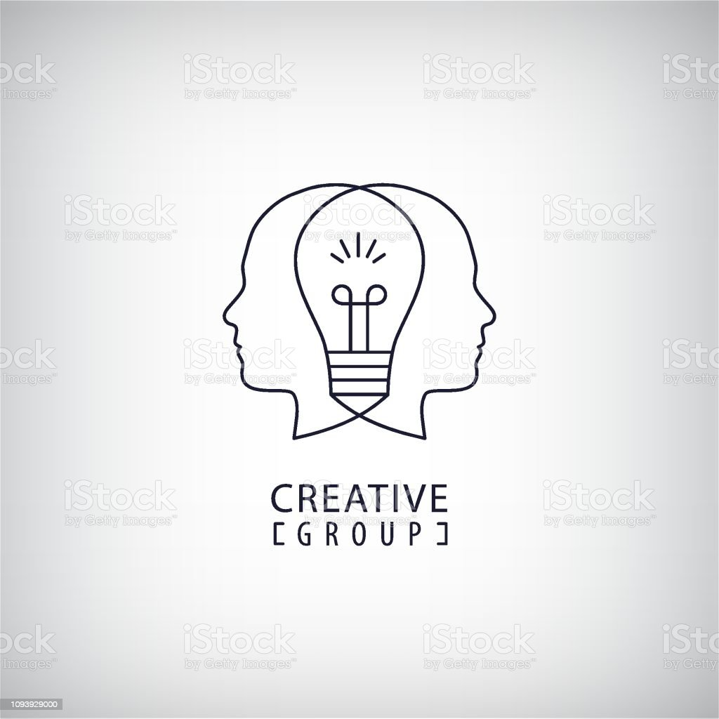 vector creative mind creative