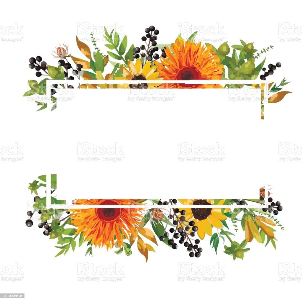 flower arrangement illustrations