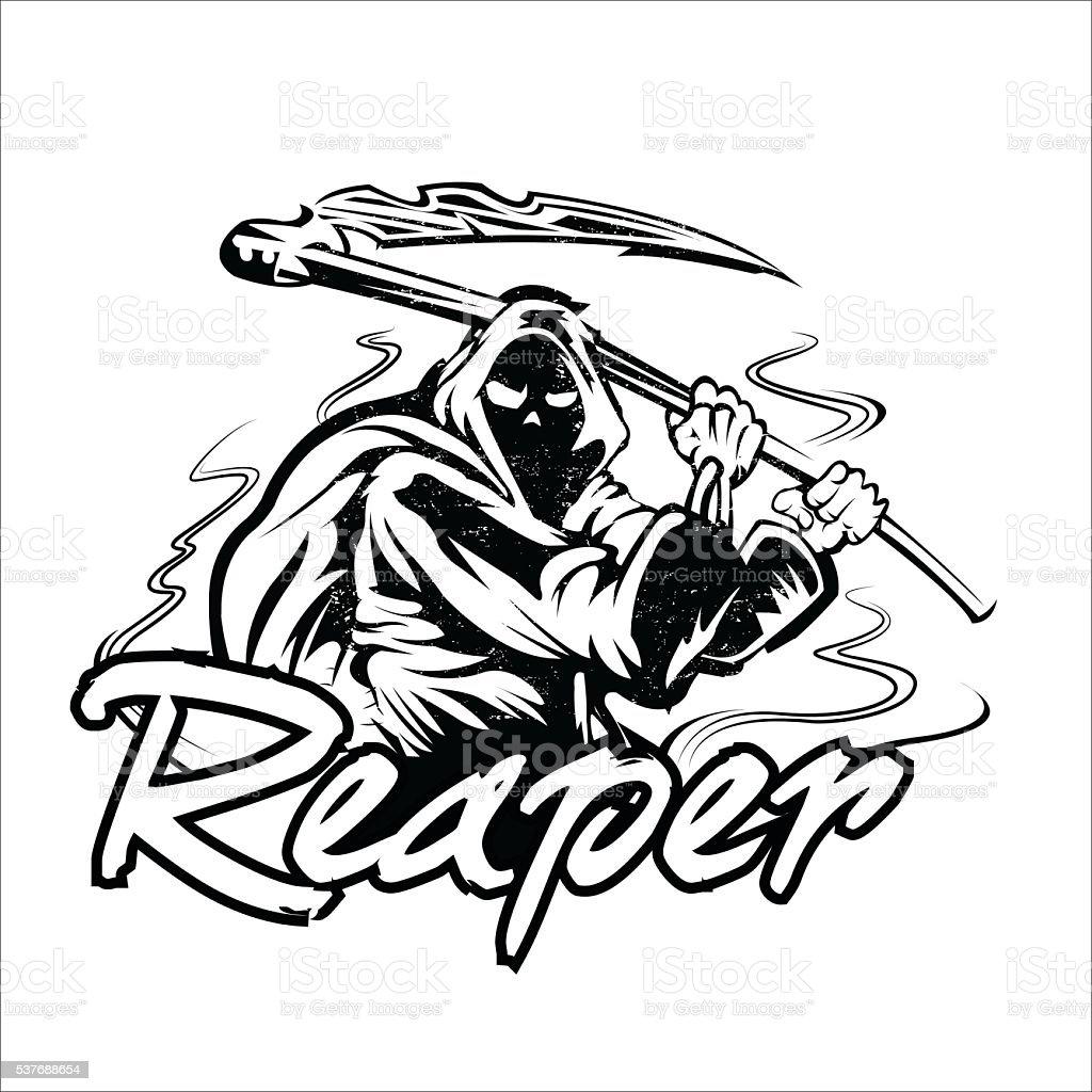 Grim Reaper Scythe Design