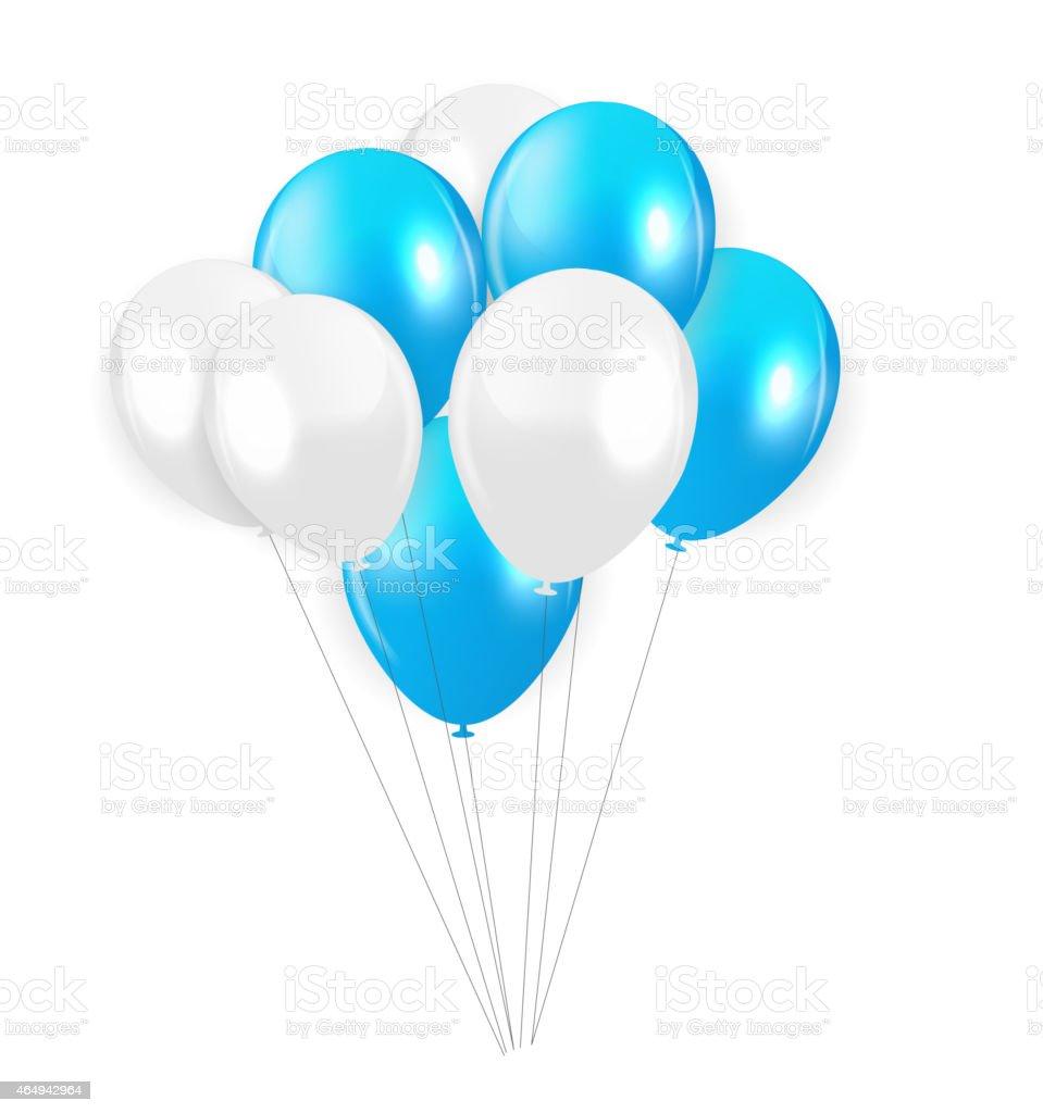 purple balloons clip art vector