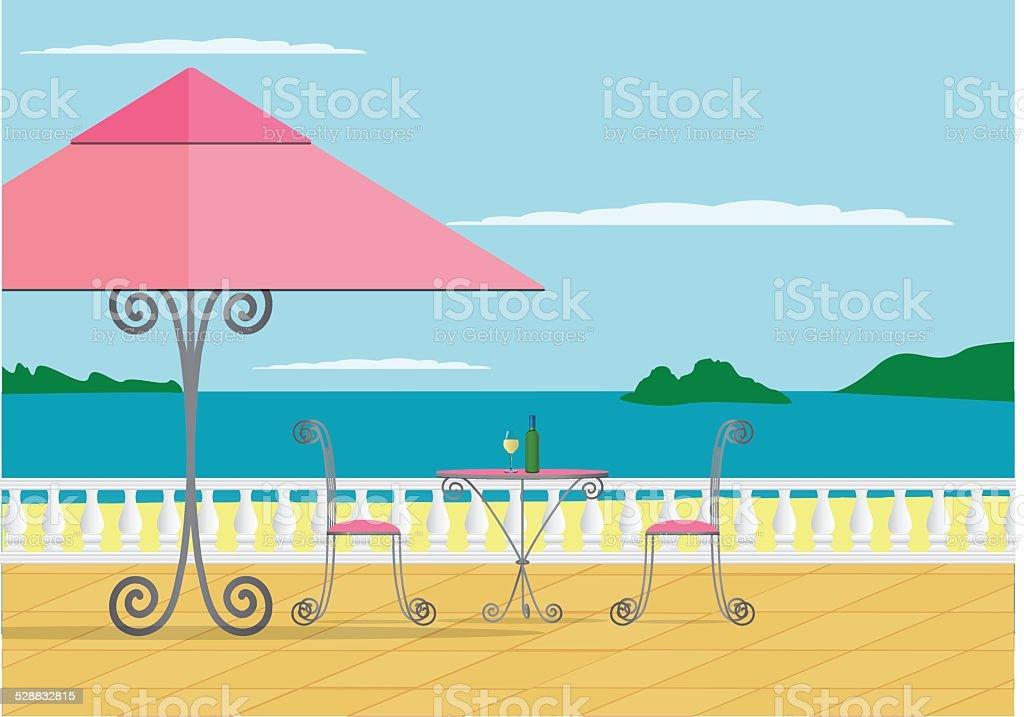 royalty free romantic beach dinner