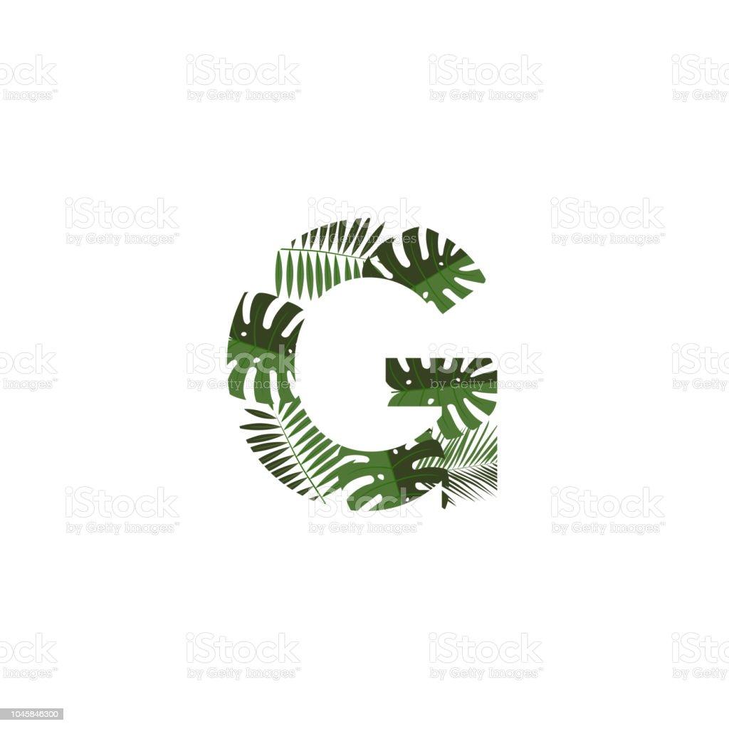 vector logo letter g