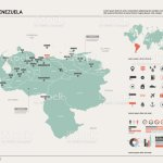 Vector Map Of Venezuela High Detailed Country Map With Division Cities And Capital Caracas Political Map World Map Infographic Elements Stock Illustration Download Image Now Istock