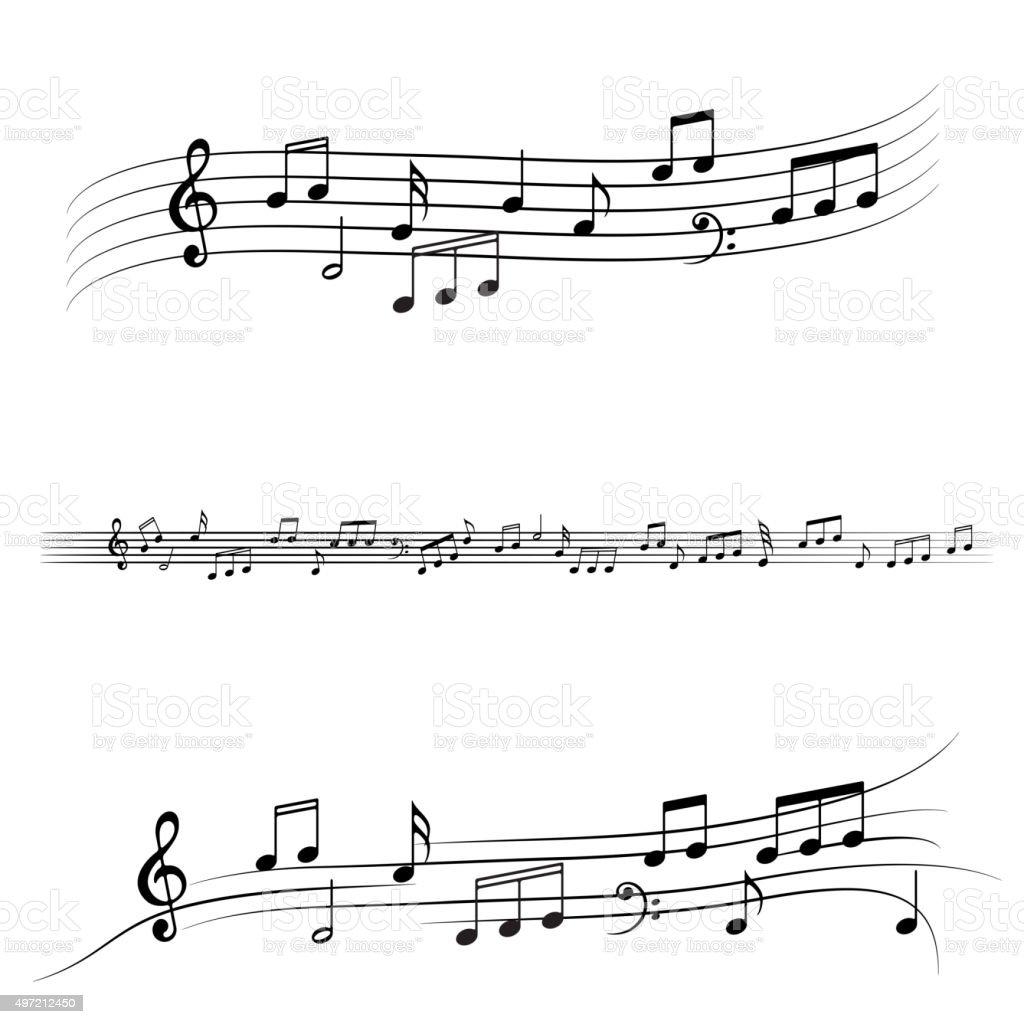 五線譜 イラスト素材 - iStock