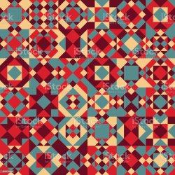 quilt vector patchwork illustrations clip pattern blocks seamless geometric illustration similar