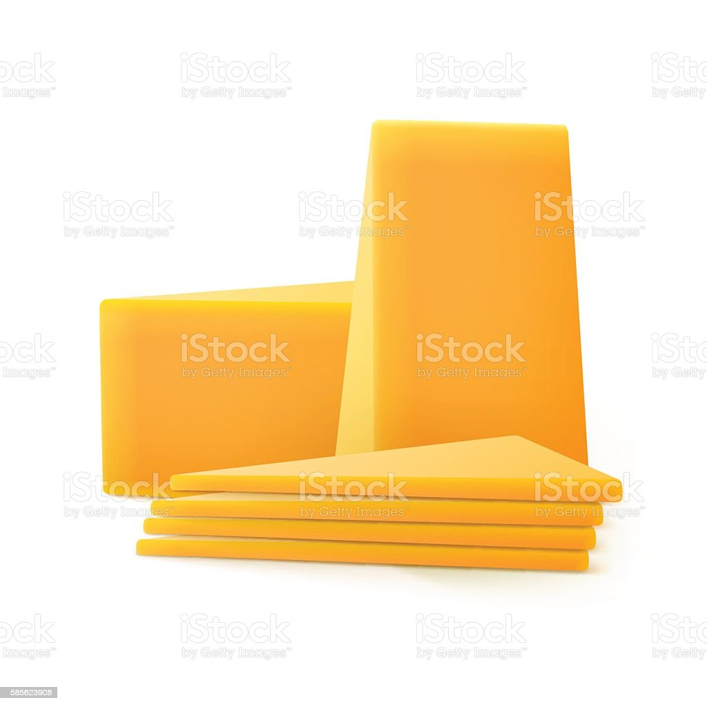 royalty free cheddar cheese clip