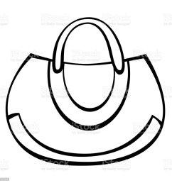 vector woman handbag illustration  [ 1024 x 1024 Pixel ]