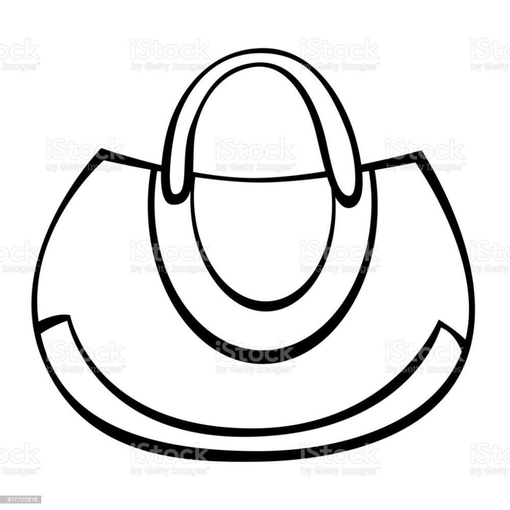 medium resolution of vector woman handbag illustration
