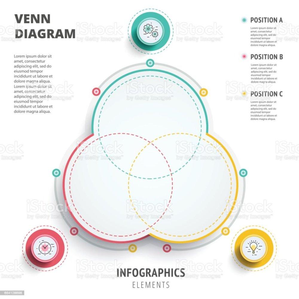 medium resolution of diagrama de venn c rculos infograf a dise o de plantilla vector 3d pre ilustraci n de diagrama de