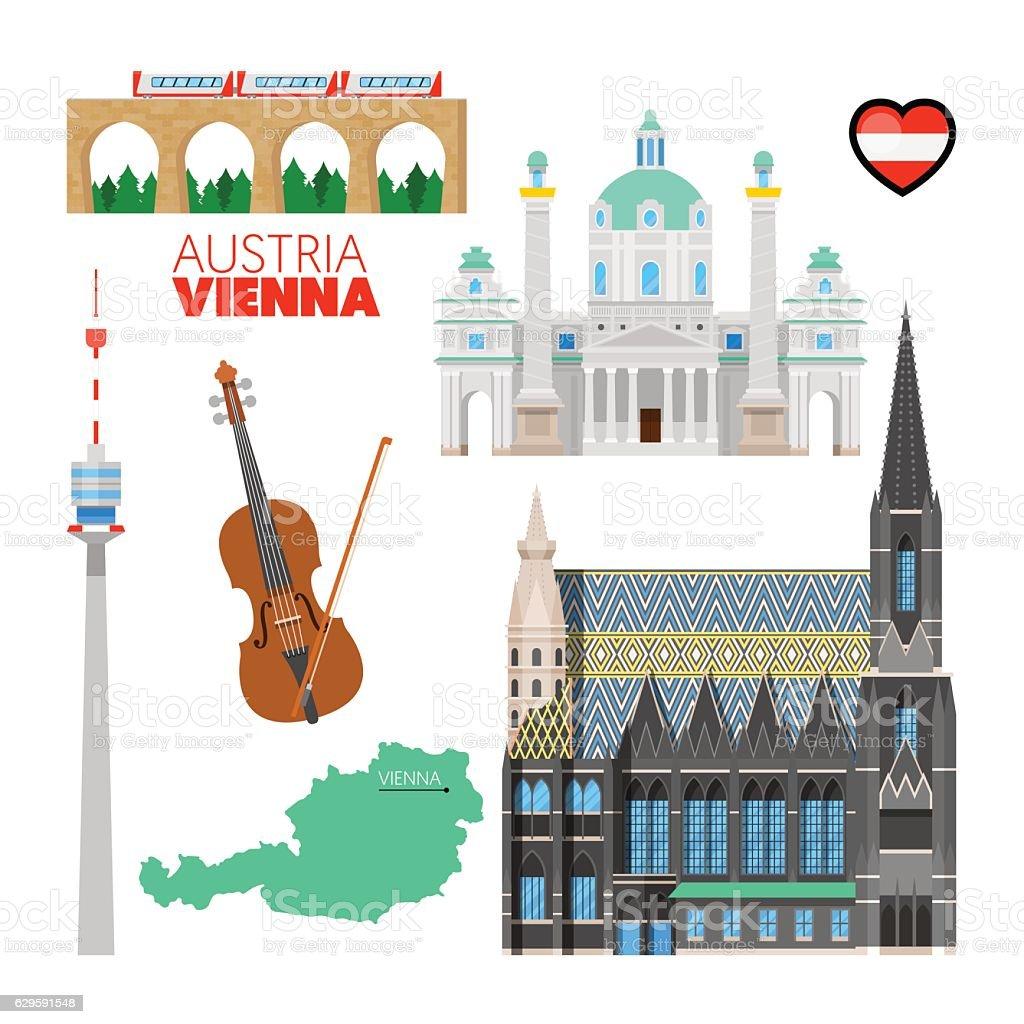 Royalty Free Vienna Austria Clip Art Vector Images