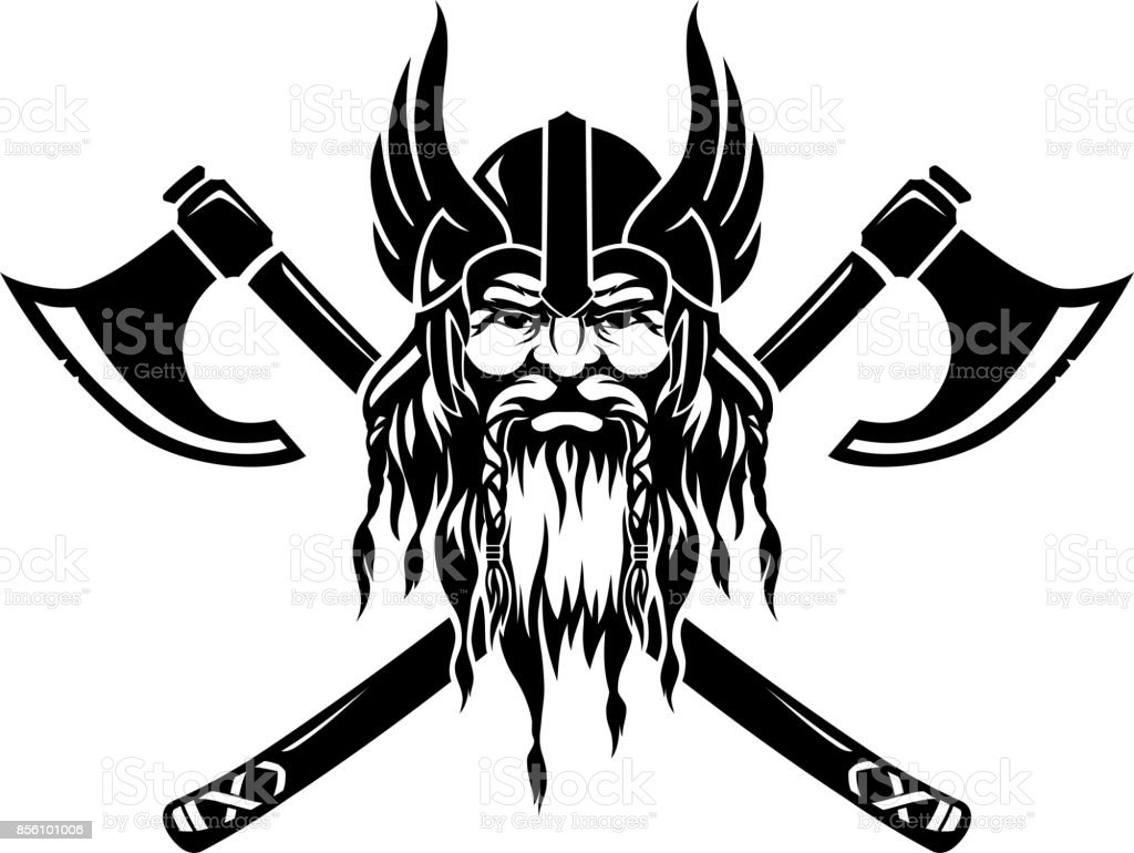 viking illustrations royalty-free