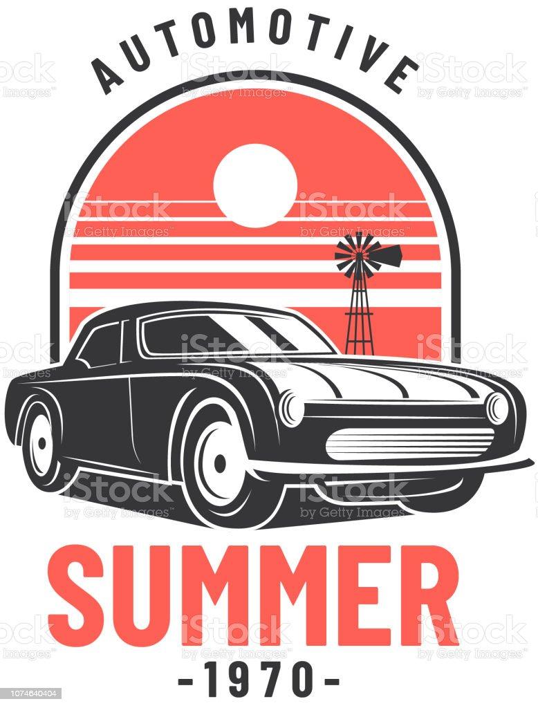 Vintage Car Clipart : vintage, clipart, Vintage, Vector