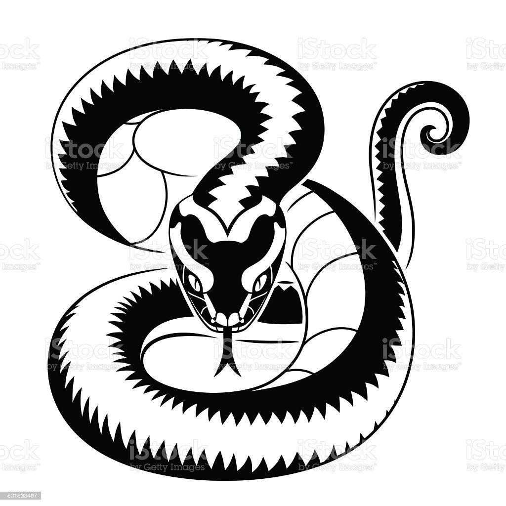 Viper Snake Stock Vector Art & More Images of 2015
