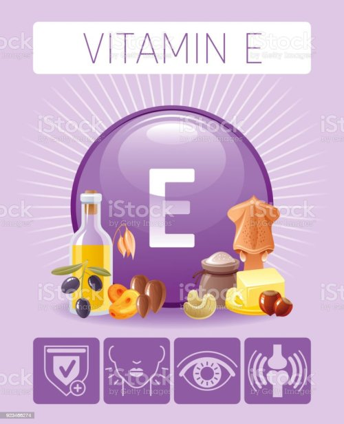 small resolution of vitamin e tocopherol nutrition food icons healthy eating antioxidant supplement text letter symbol