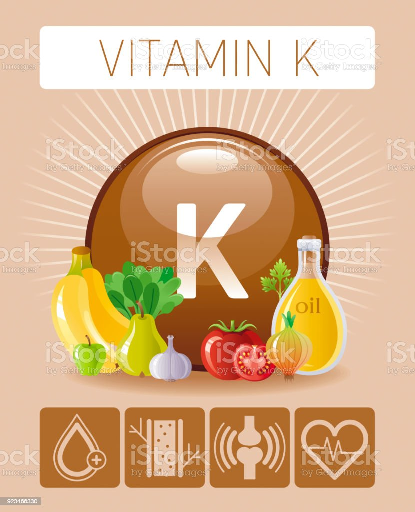 hight resolution of vitamin k supplement food icons healthy eating text letter symbol isolated background diet