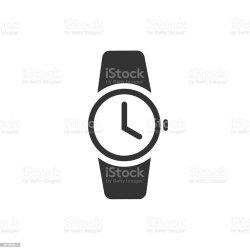 icon clipart wrist vector symbol clock pictogram uhr wristwatch illustratio clip het sie orologio dell piktogramm passen schwarzes ikonenvektor vectorillustratio