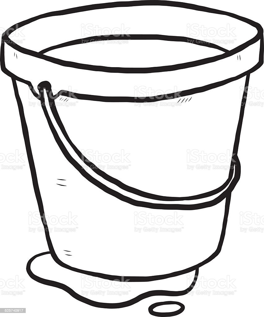 Water Bucket Stock Vector Art & More Images of Aluminum