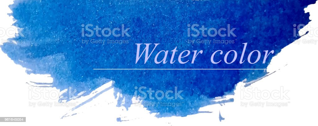 water color patch stock