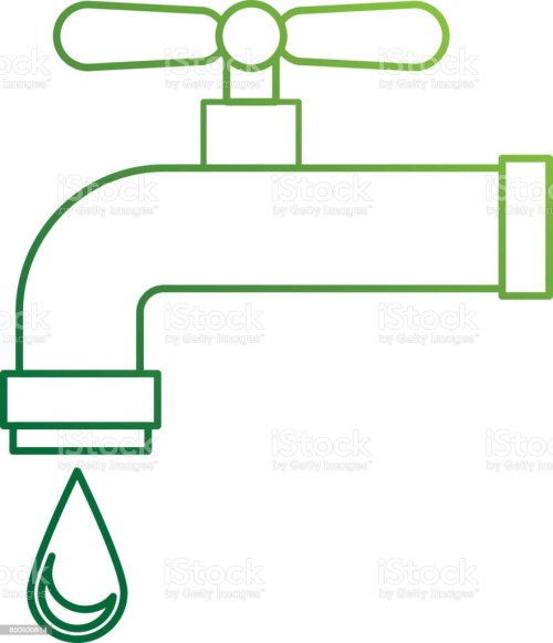 small resolution of water tap isolated icon illustration