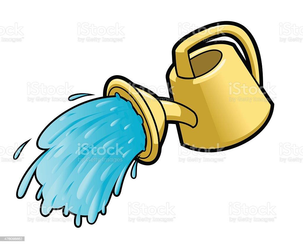 royalty free drip irrigation clip