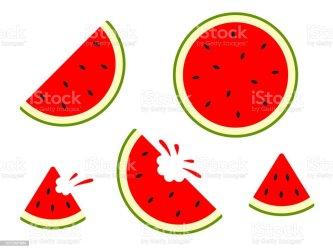 76 Simple Bitten Watermelon Slice Illustrations Royalty Free Vector Graphics & Clip Art iStock