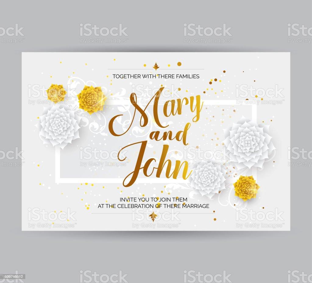 wedding invitation card background stock illustration download image now istock