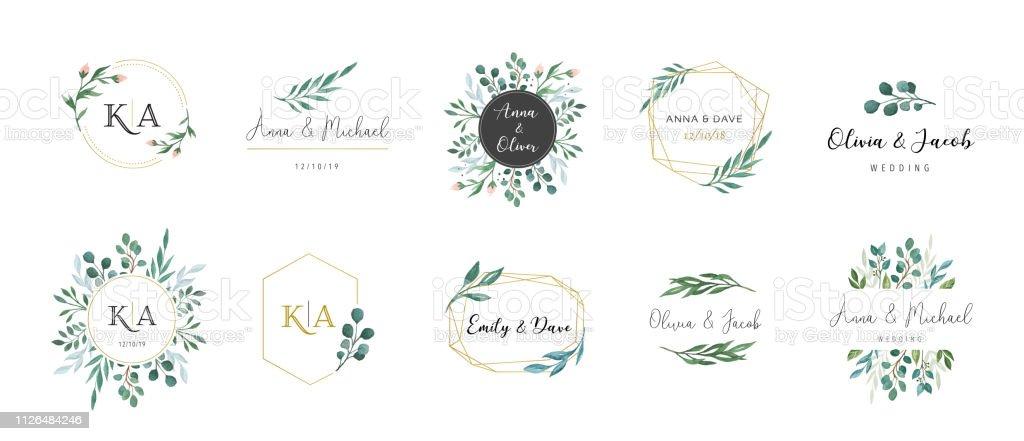 19 537 wedding invitation illustrations clip art istock